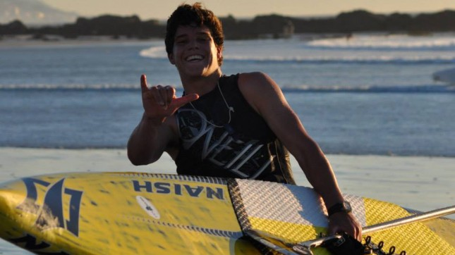 Ethan Koopmans stand up paddler South Africa