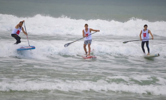 French Championships stand up paddle racing