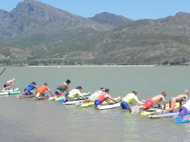 South Africa stand up paddleboard championship