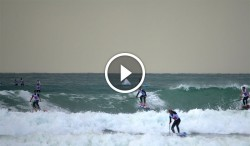 Stand Up Paddle boarding video France 12'6