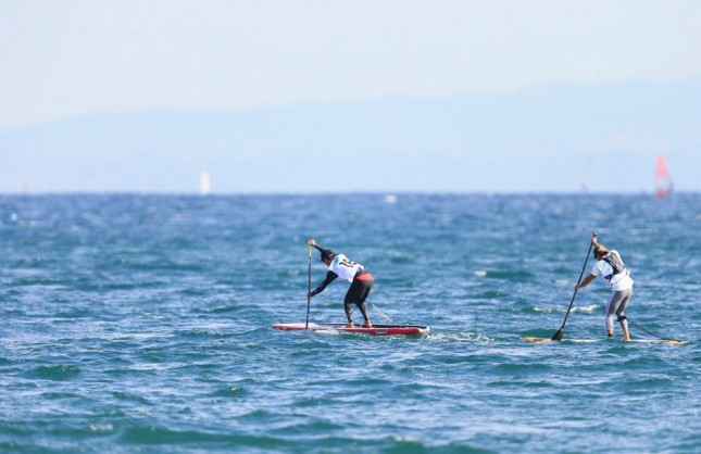 Stand Up Paddling in Japan