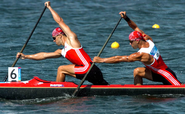 Attila and Tamas Buday junior (C-2 Canoe)