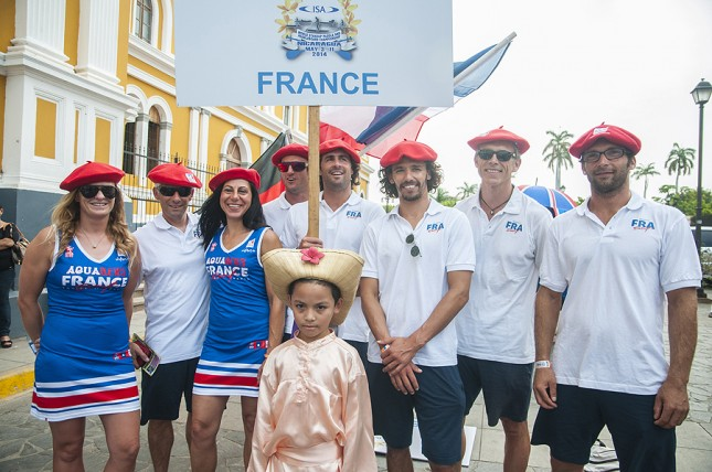 Team France ISA World Stand Up Paddle Championship