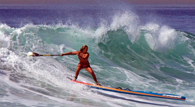 Fiona Wylde Starboard SUP