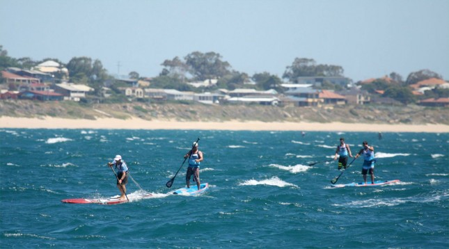King of the Cut stand up paddle race Western Australia
