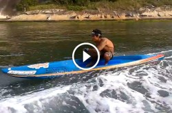 Stand Up Paddle Race Board Surfing Boat Wave