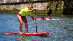 Angela Jackson Stand Up Paddling