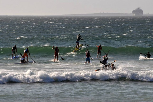 Downwind Stand Up Paddling in South Africa