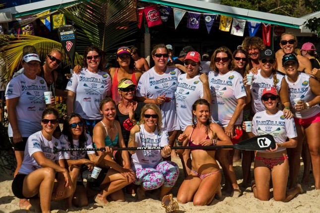 Painkiller Cup stand up paddling race
