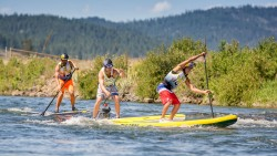 Payette River Games stand up paddling