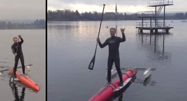 The Most Batsh T Crazy Stand Up Paddle Board Ever