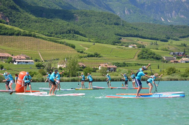 Stand Up Paddlin Alps Trophy SUP Race Series