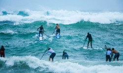 Stand Up Paddling Surf Race New Zealand