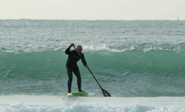 Stand Up Paddling on Jersey