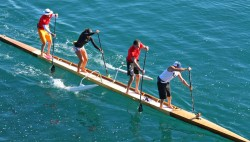 World's longest SUP board The Ark Hanohano