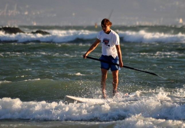 Joshua Robertson stand up paddler