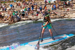 Brittany-Parker-river-standup-paddling