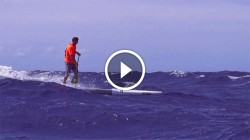 Josh Riccio Downwind Stand Up Paddling Hawaii