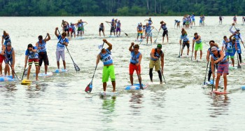 The Lost Mills Stand Up Paddle Race