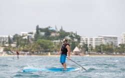 Travis Grant downwind stand up paddling