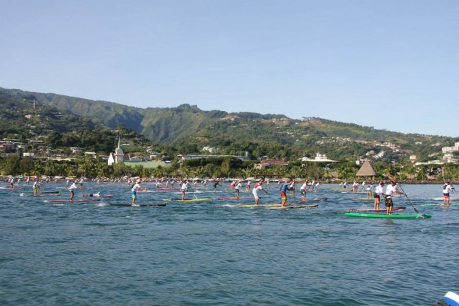 Air France Paddle Festival SUP race