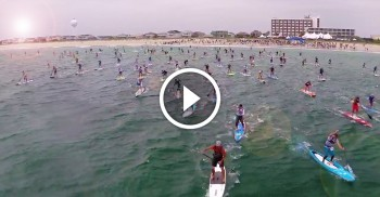 Carolina Cup Stand Up Paddleboard race video 2015