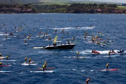 OluKai Ho stand up paddle race Maui