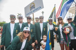 South Africa stand up paddling team
