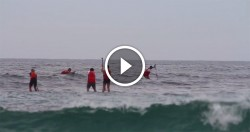 Stand Up Paddle board race New South Wales