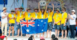 Team Australia ISA World Stand Up Paddle Championship