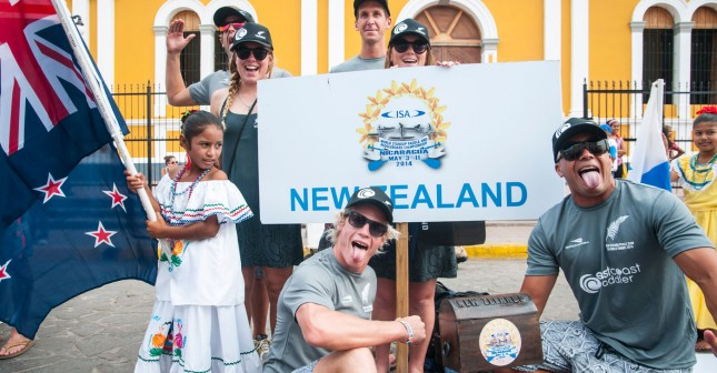 Team New Zealand ISA World Stand Up Paddle and Paddleboard Championship