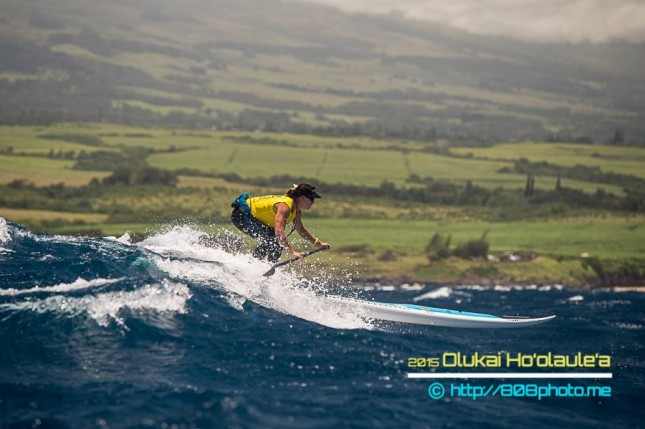 Andrea Moller Maui stand up paddling