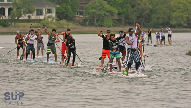 Carolina Cup stand up paddleboard race Wrightsville Beach
