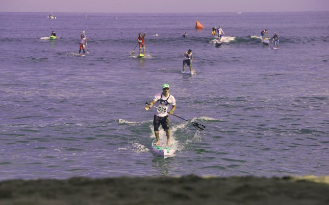Danny Ching World Champion stand up paddle racing