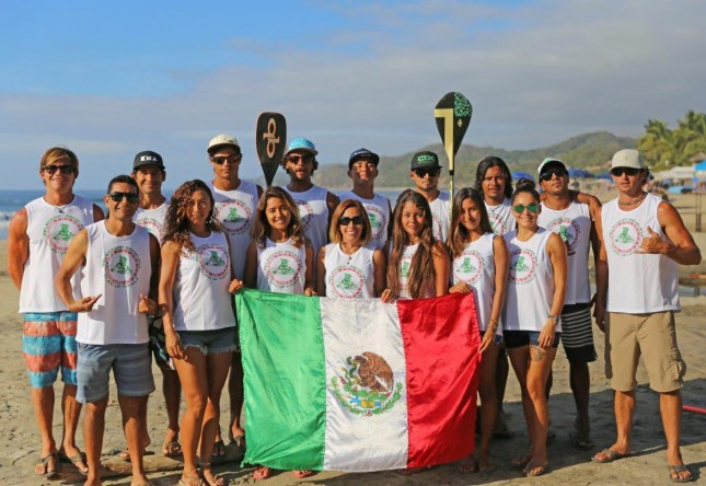 ISA stand up paddle world championships team Mexico