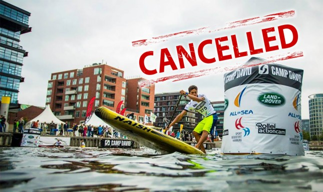 SUP World Cup Fehmarn Germany Cancelled