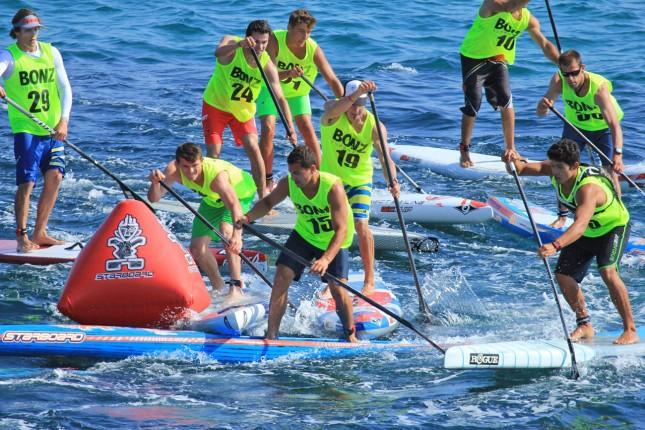 The SUP Race Cup in Sainte Maxime