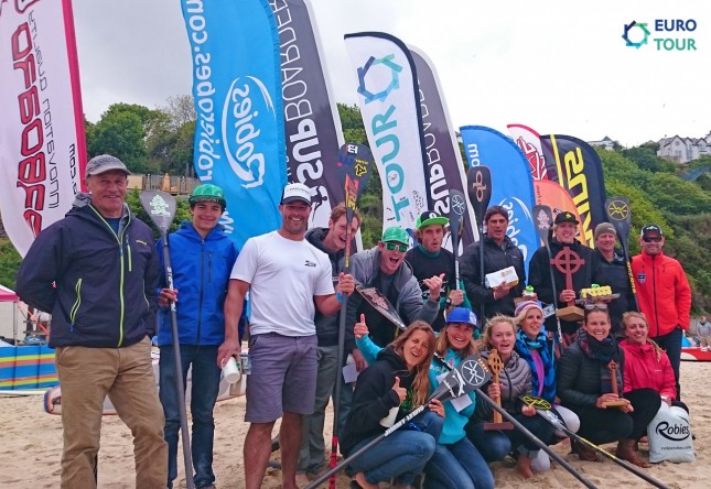 St Ives Bay Celtic Cup stand up paddle race