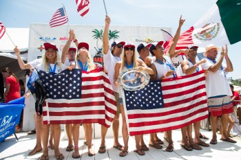 Team USA wins the ISA World Championship of Stand Up Paddleboarding