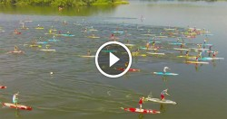 Lost Mills stand up paddle video