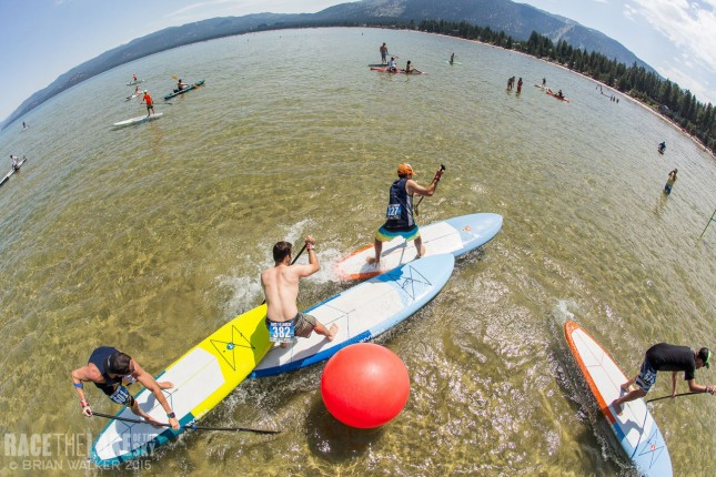 SUP Cross Race the Lake of the Sky Lake Tahoe