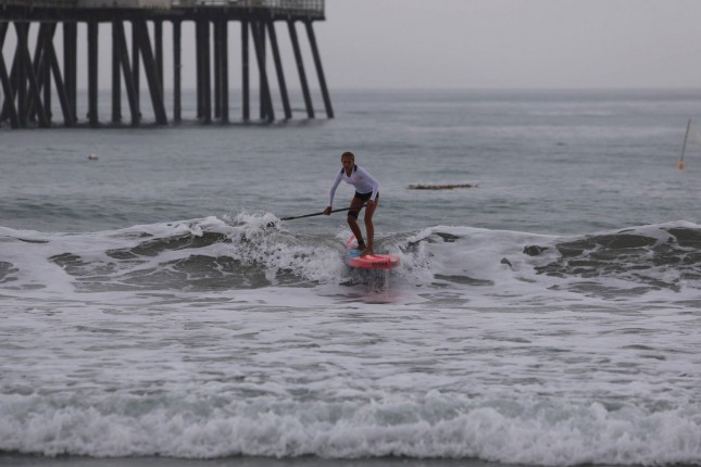 San Clemente Ocean Fest stand up paddle race