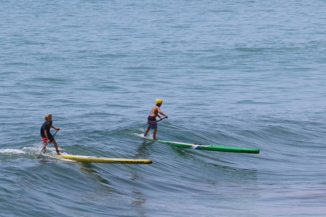 Stand Up Paddling San Clemente