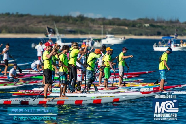 Molokai to Oahu paddle race