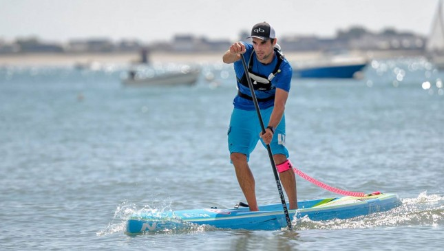 Vincent Verhoeven stand up paddle France
