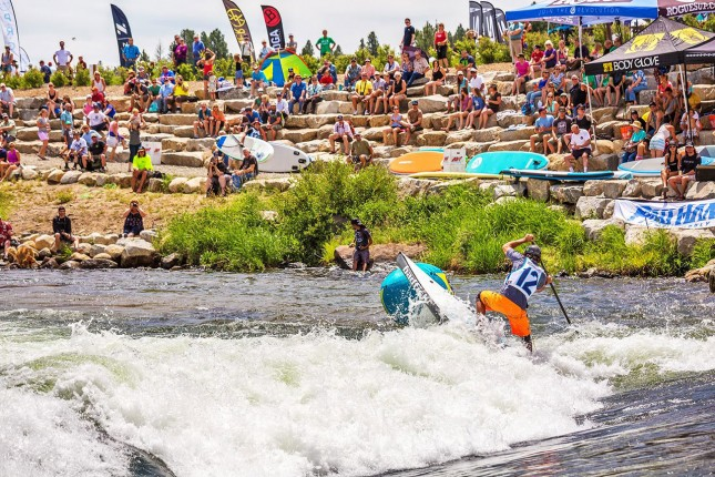 Payette River Games SUP Race