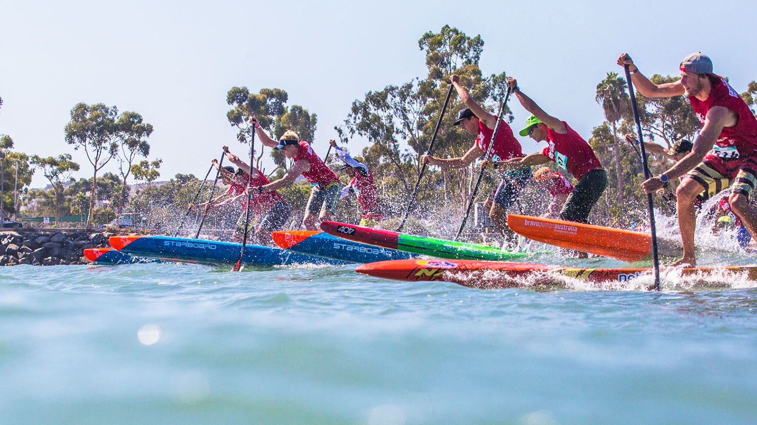 stand up paddle boards racing