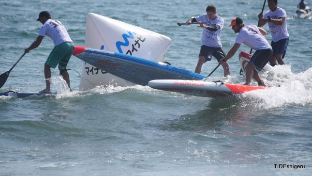 stand up paddling Japan Cup 11