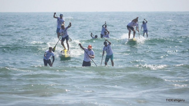 stand up paddling Japan Cup 5