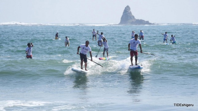 stand up paddling Japan Cup 8